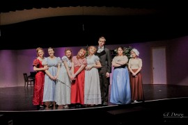 Pride and Prejudice performing at Roy High
