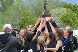 Girls lacrosse team takes state