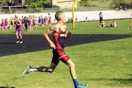 Curt Crossley – Track and Cross Country Star